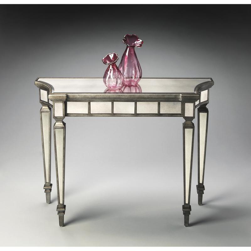 Ballerina Mirrored Console Table