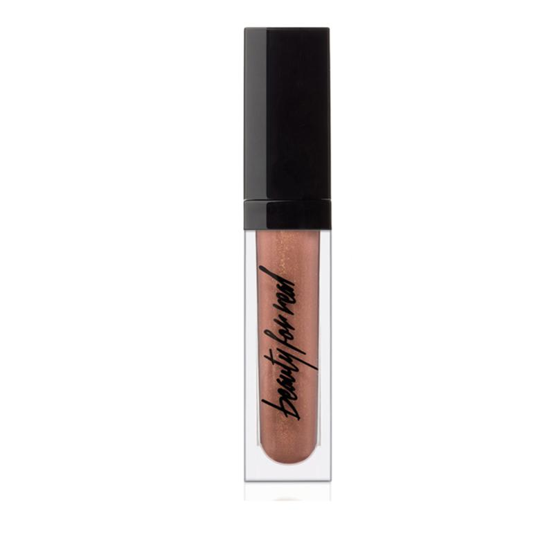 Beauty For Real Lip Gloss w/Light Mirror Bronzed