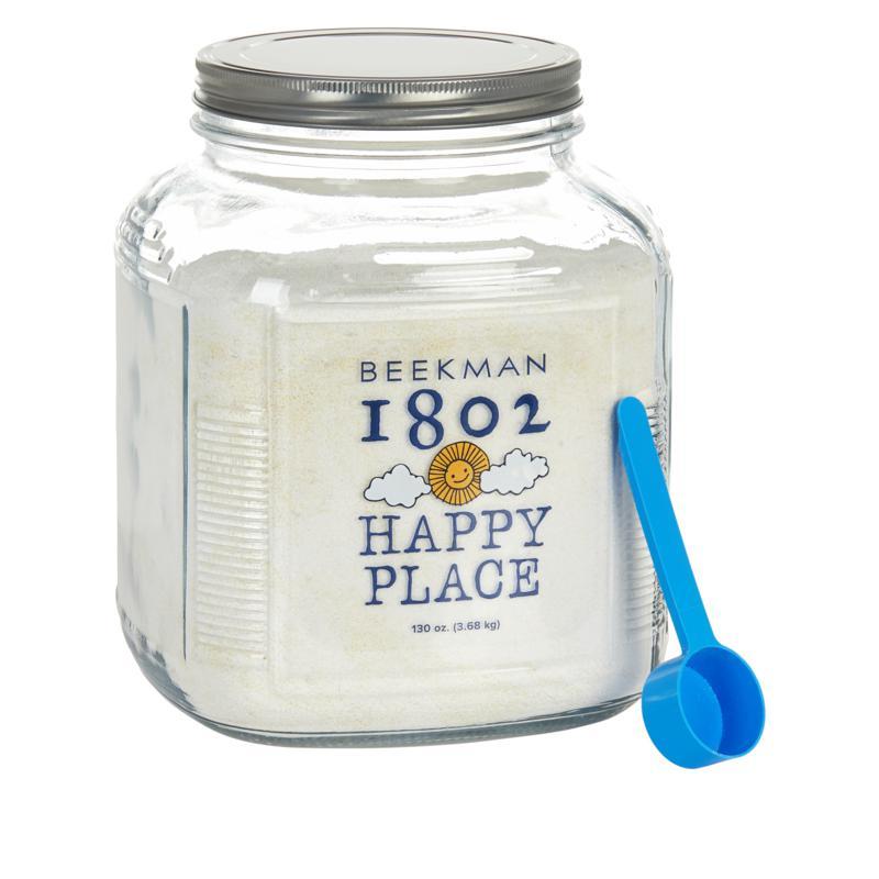 Beekman 1802 Happy Place 260-Load Goat Milk Laundry Soap in Glass Jar