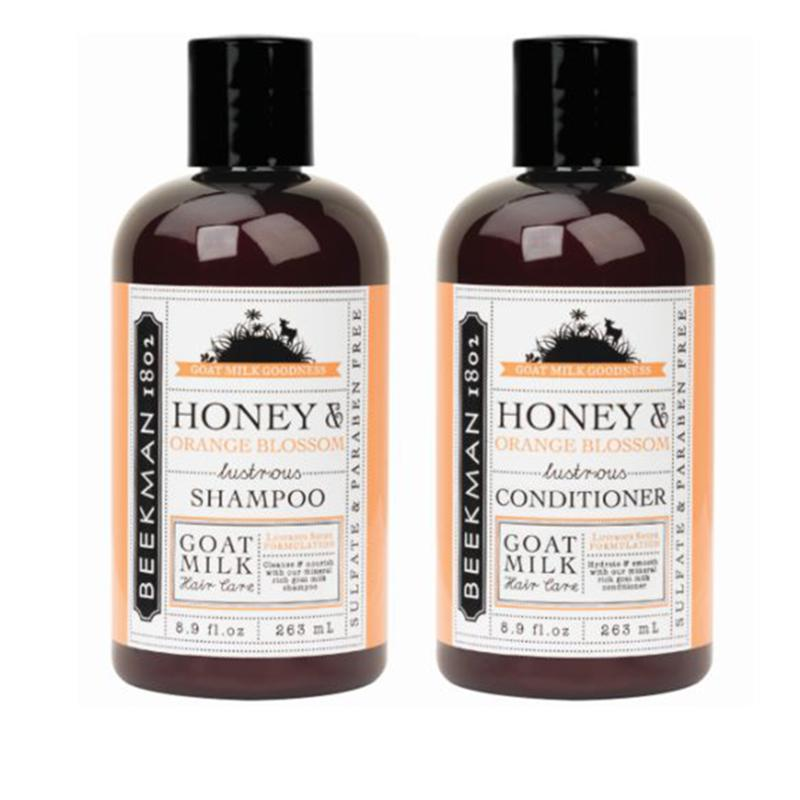 Beekman 1802 Honey & Orange Blossom Shampoo and Conditioner