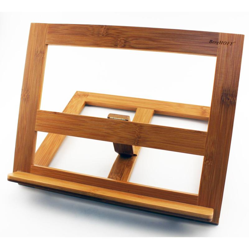 BergHOFF Bamboo Cookbook Tablet Holder