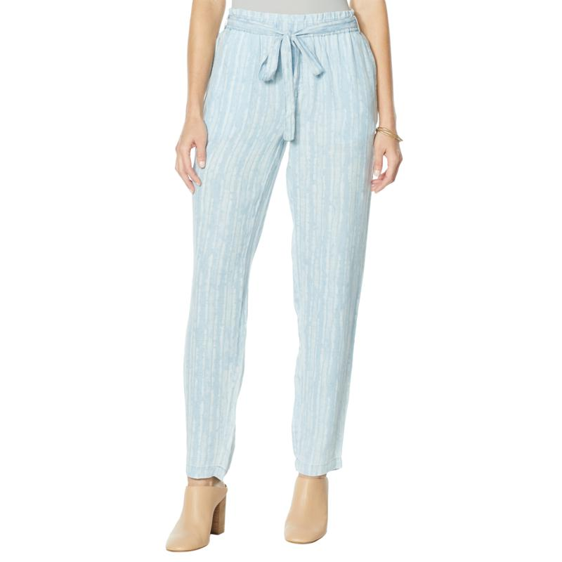 Billy T Coastal Blooms Tie Waist Swagger Pant
