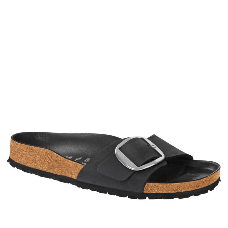 Birkenstock Madrid Big Buckle Leather Sandal