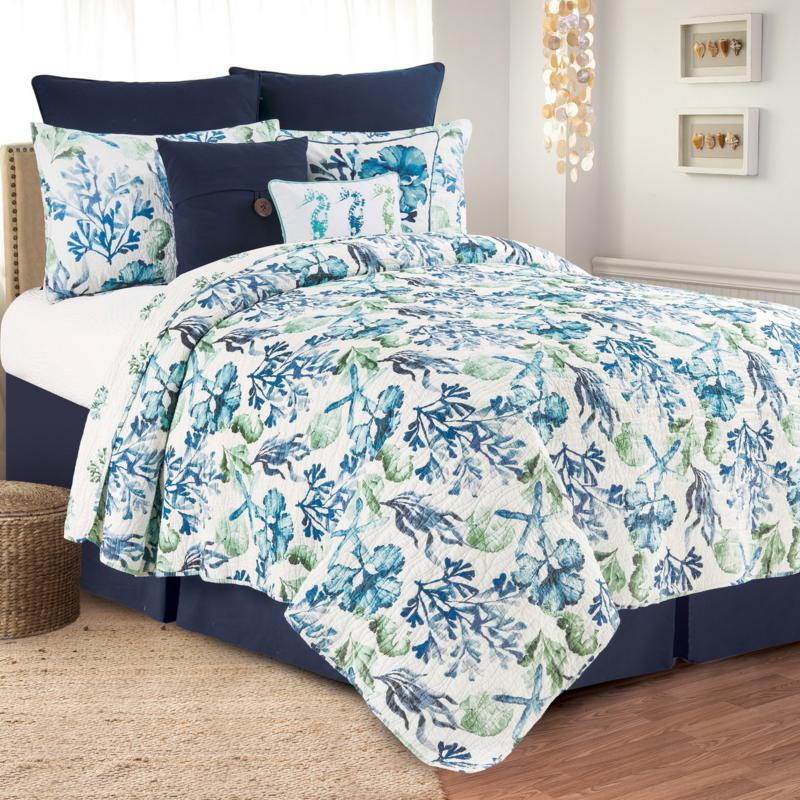 Bluewater Bay King Quilt Set