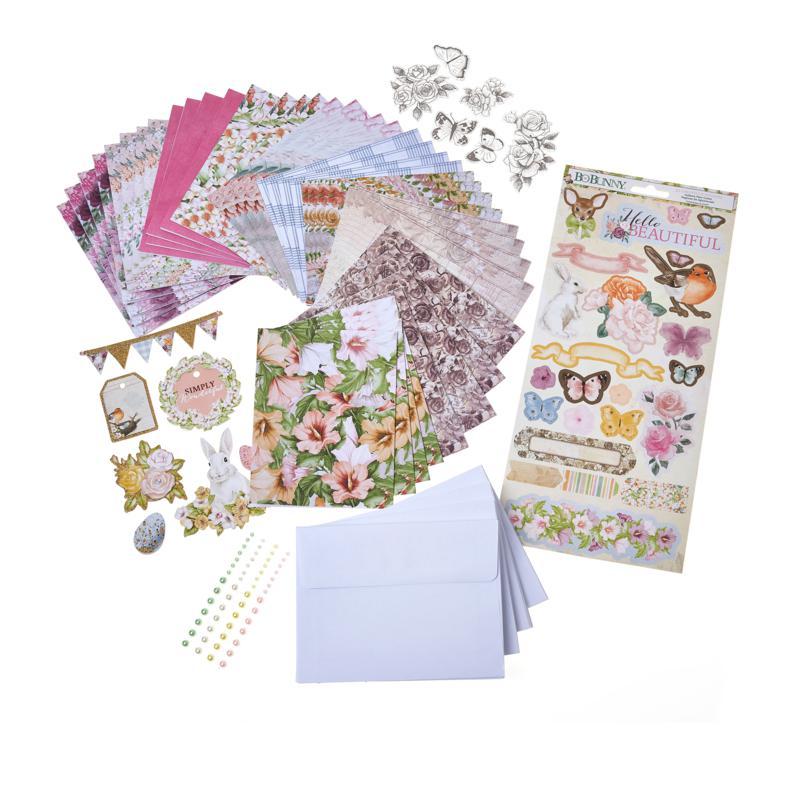 Bo Bunny Garden Grove Card Making Kit