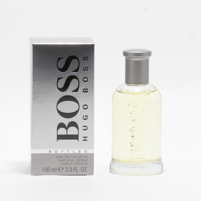 Boss Bottled Men By Hugoboss Eau De Toilette Spray 3.4 oz. - Grey Box