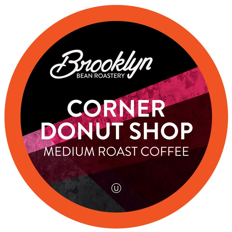 Brooklyn Beans Corner Donut Shop Coffee Pods 40-count