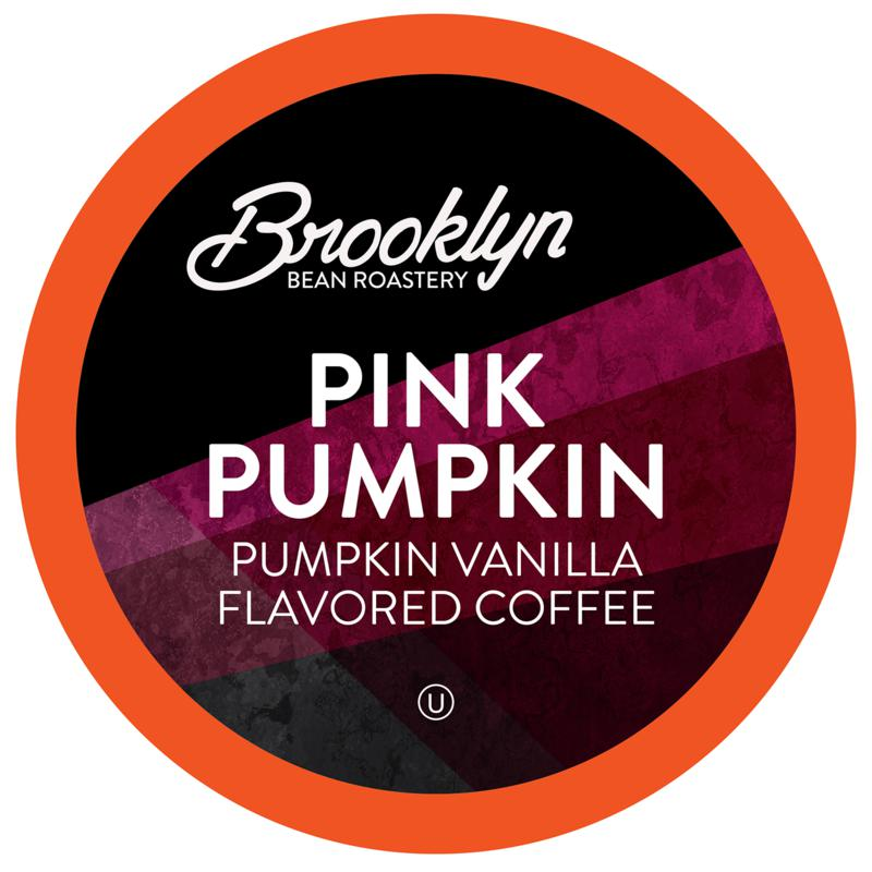 Brooklyn Beans Pink Pumpkin Coffee Pods for Keurig 2.0, 40-Count