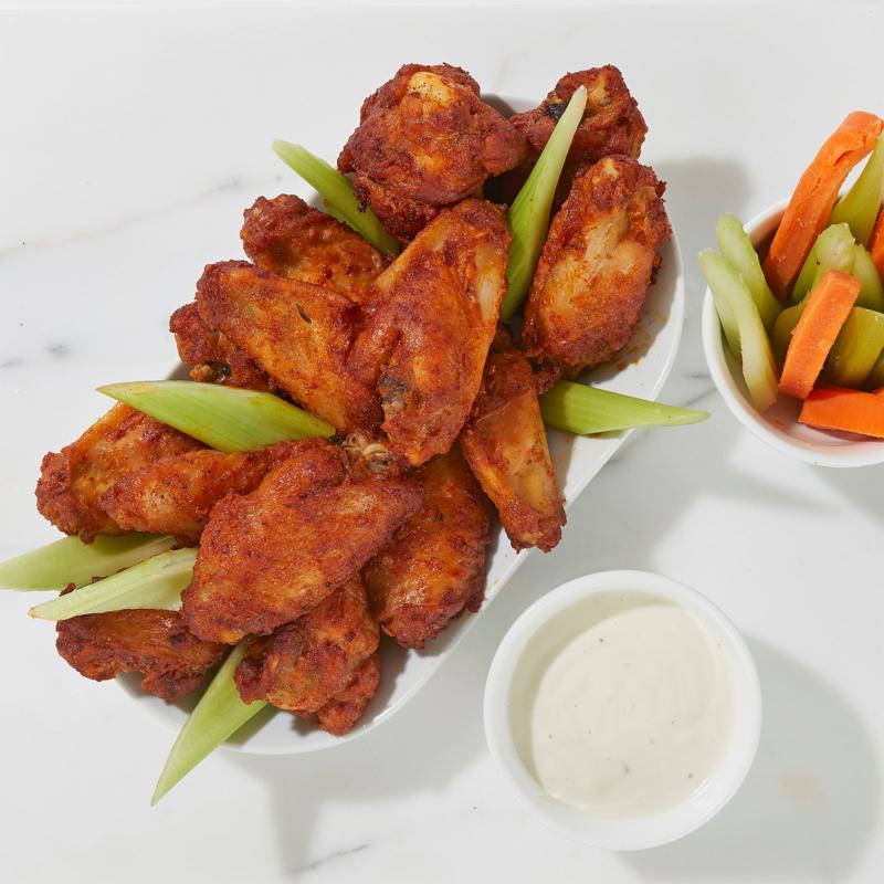 Burnt Finger 3 lbs. Honey BBQ Oven Roasted Chicken Wings