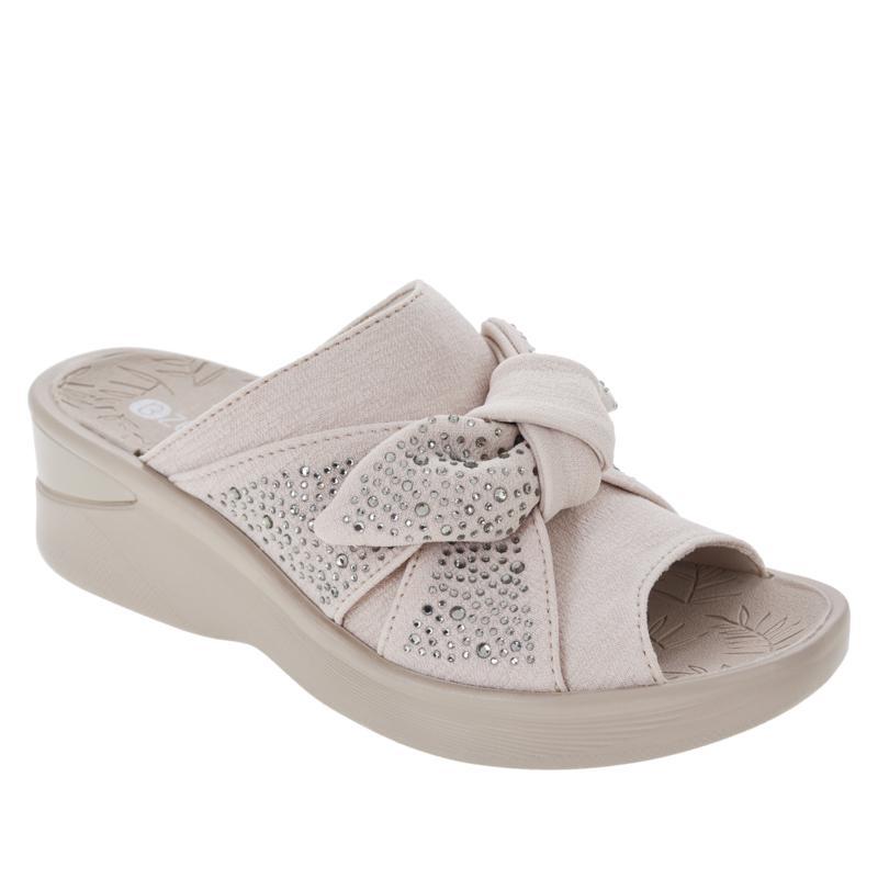 Bzees Smile Bright Washable Wedge Sandal
