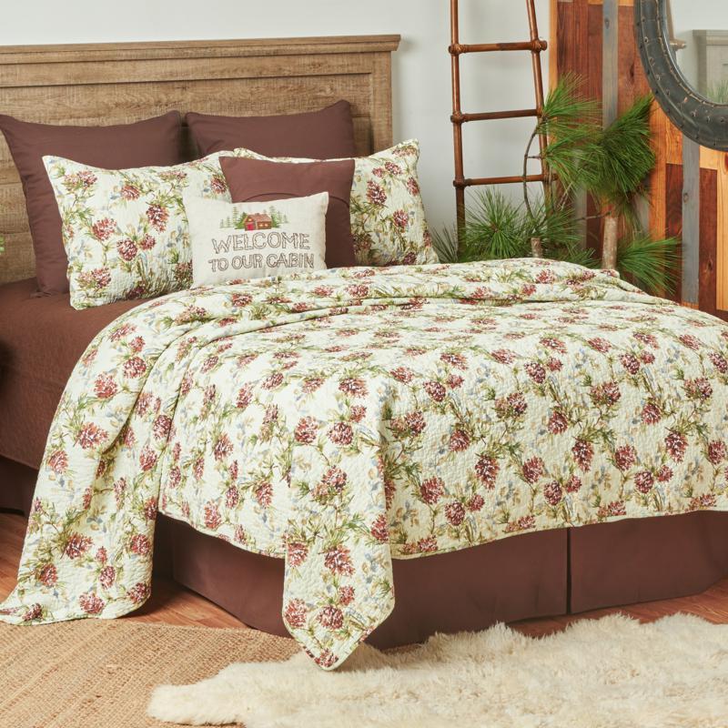 C&F Home Cooper Pines Quilt Set - King