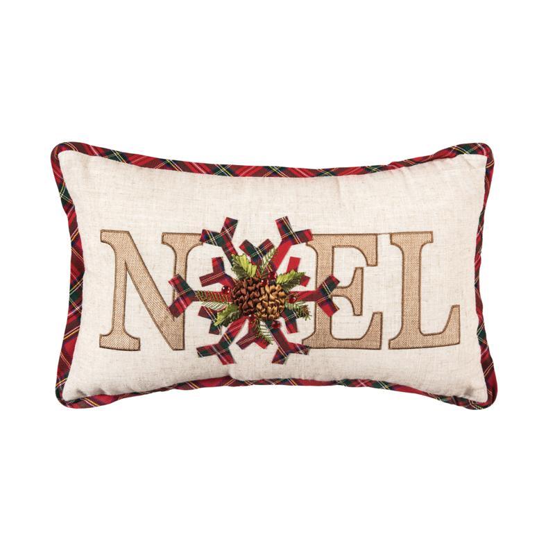 C&F Home Noel Pillow