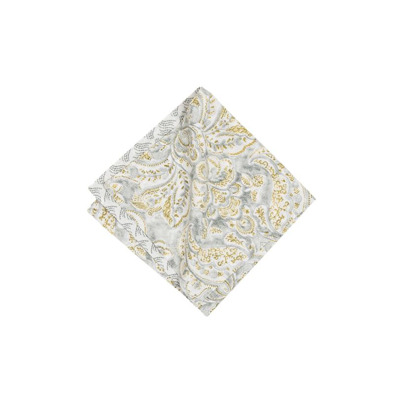 C&F Home Volterra Damask Napkin 6-Pack