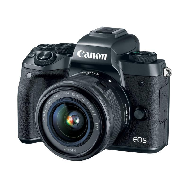Canon EOS M5 Mirrorless Digital Camera w/18-150mm Lens & Accessories