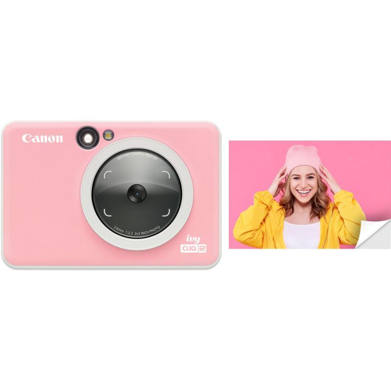 Canon IVY CLIQ2 Instant Camera Printer - Petal Pink