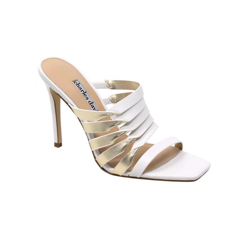Charles David Vocal Leather Strappy Sandal