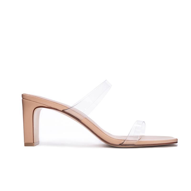 Chinese Laundry Yanti Heeled Slide Sandal