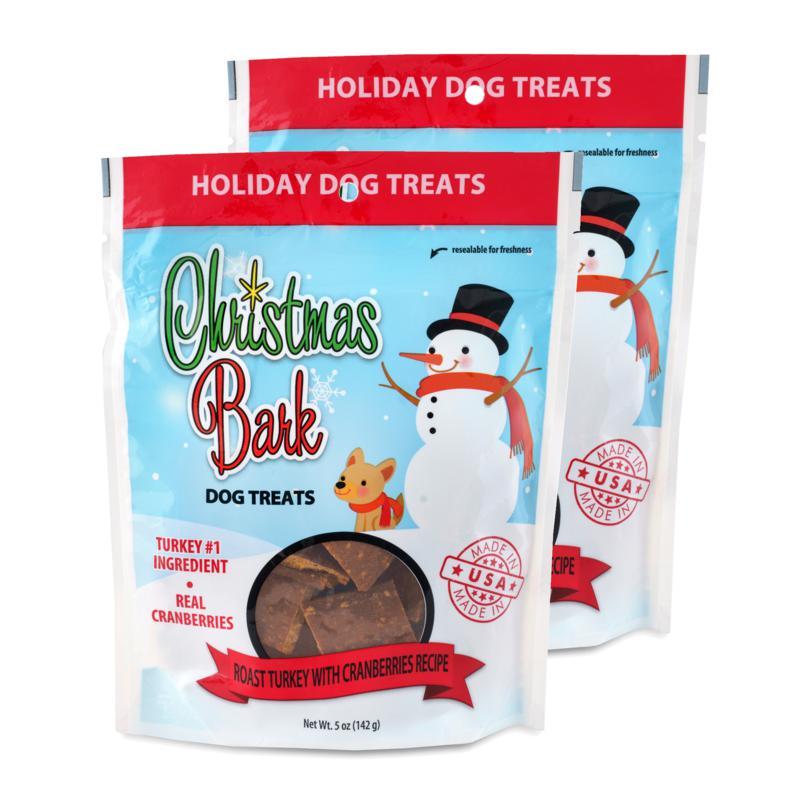 Christmas Bark Roast Turkey with Cranberries Recipe Dog Treats 2 Pa...