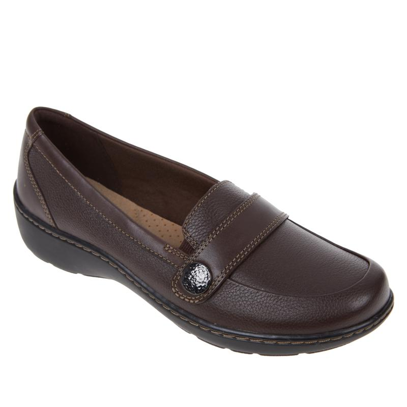 Clarks Collection Cora Daisy Leather Loafer