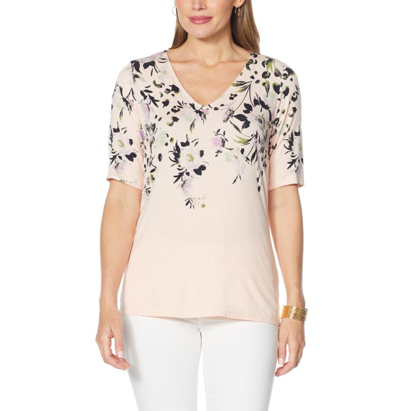 Colleen Lopez Placement Print Tunic