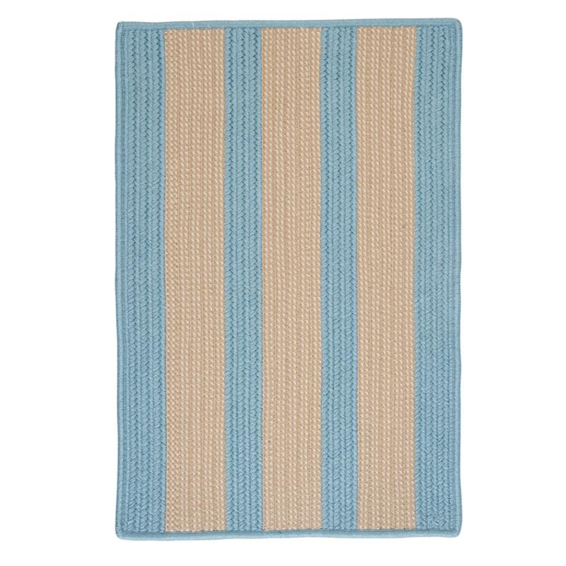 Colonial Mills Boat House 8' x 11' Rug - Light Blue