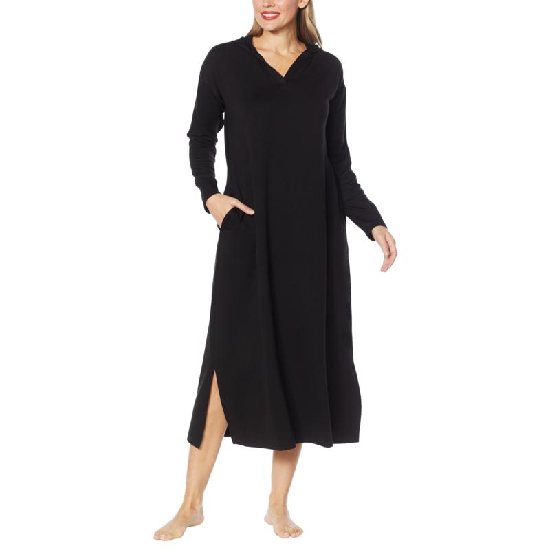 Comfort Code Baby French Terry Hooded Lounge Dress