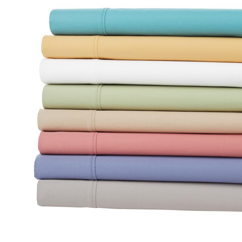 Concierge Collection Liquid Cotton Sheet Set - Bold Colors