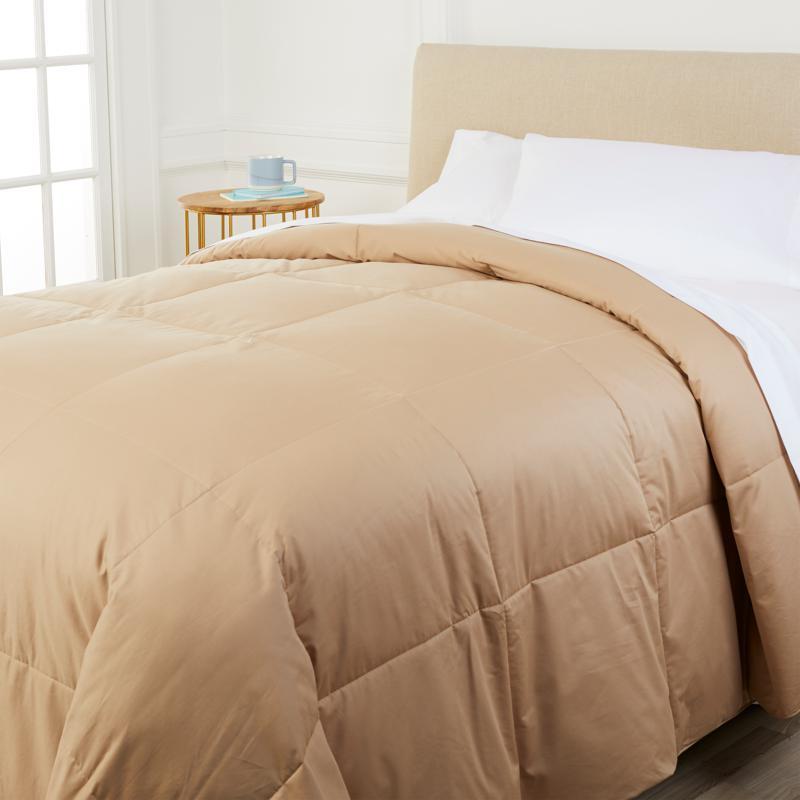 Concierge Collection Platinum 400TC Cotton Goose Down Comforter - King