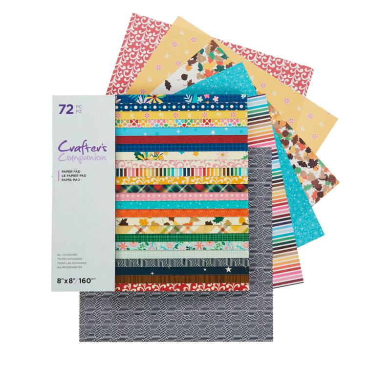 """Crafter's Companion 8"""" x 8"""" All Occasion Paper Pad"""