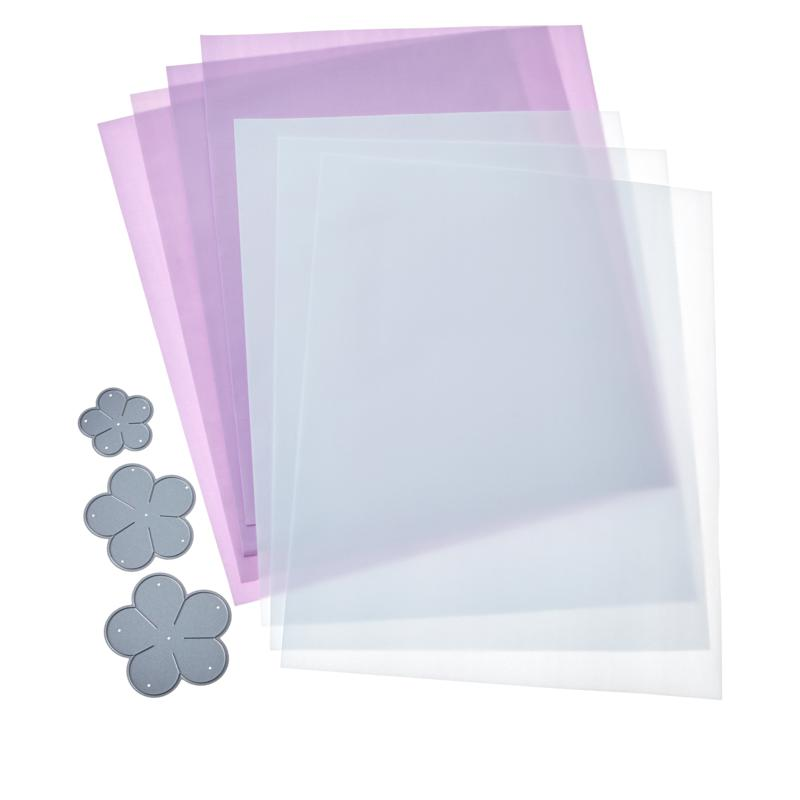 Crafter's Companion Foam Flower Kit - Geranium