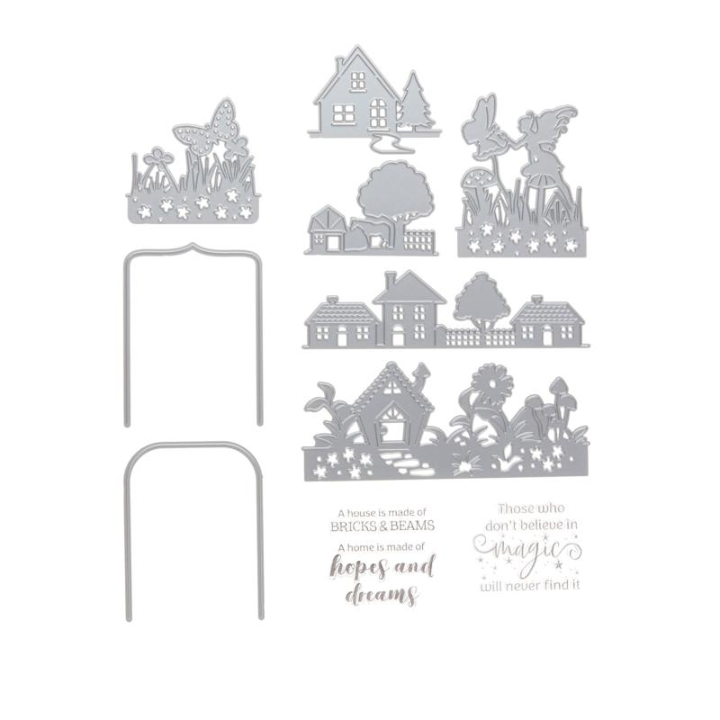Crafter's Companion Gemini Everyday Scene of Light Stamp and Die Set