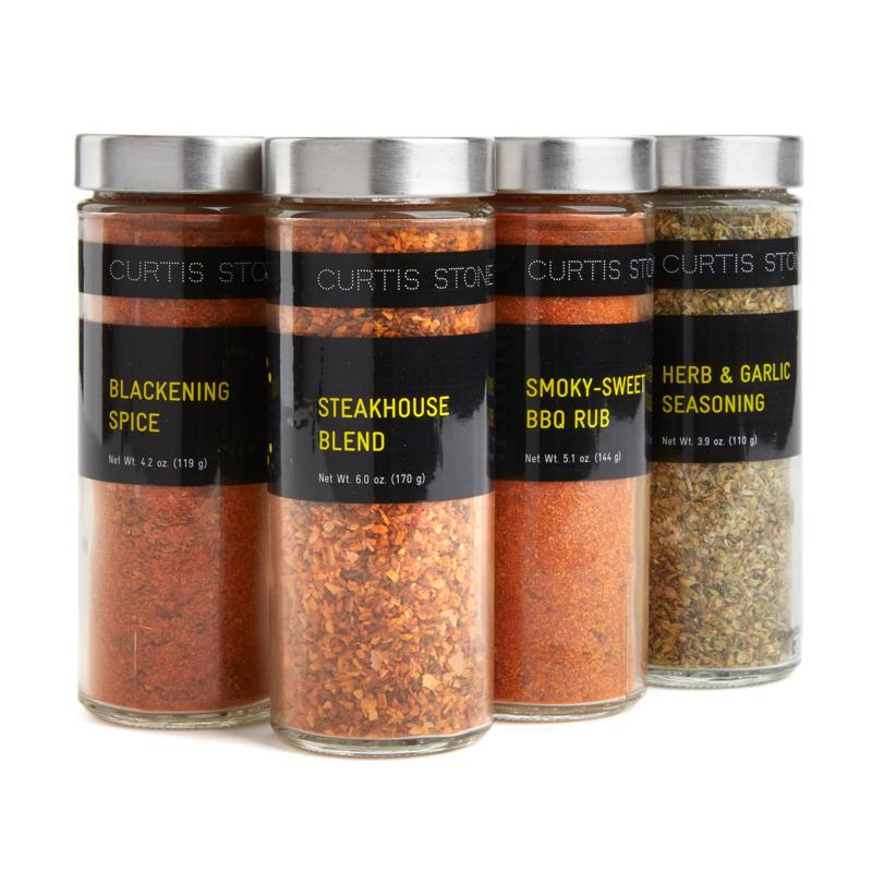 Curtis Stone Secret Weapon 4-pack 4 oz. Jar Spice Set Auto-Ship®