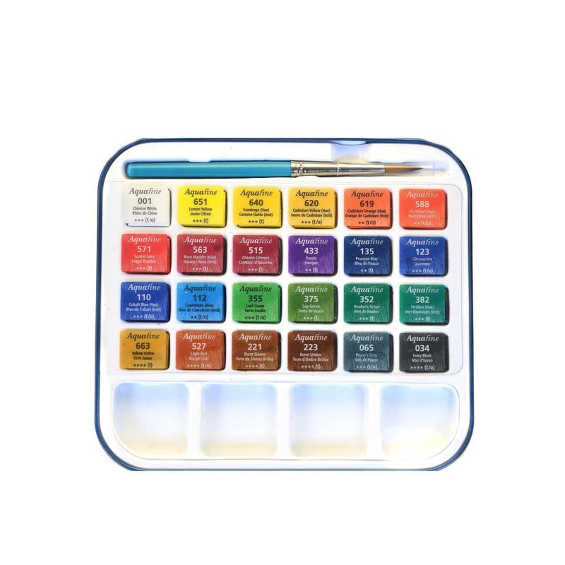 Daler-Rowney Aquafine Box Sets - Set of 24