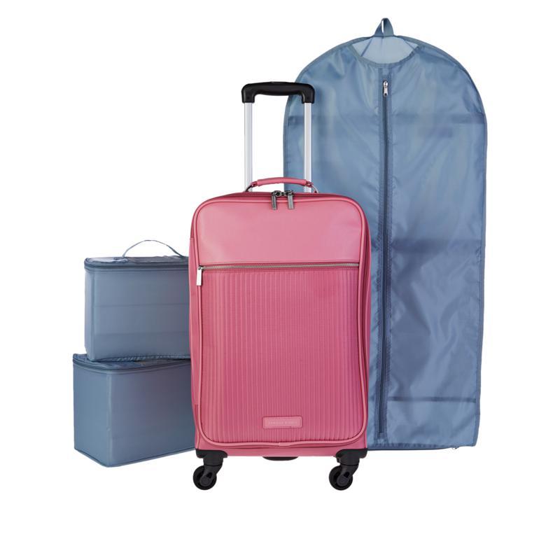 Danielle Nicole Modern Jetsetter Waterproof Carry On Luggage