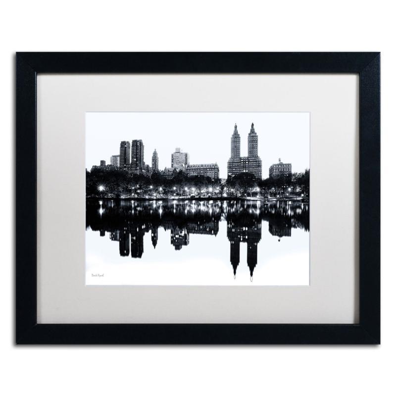 """David Ayash """"Central Park West II"""" Framed Art"""