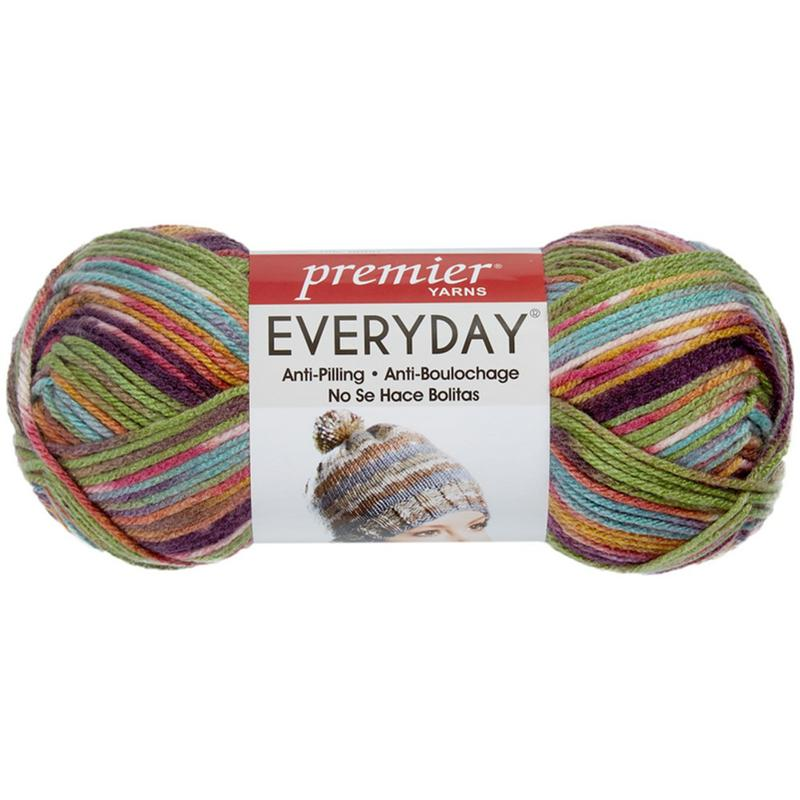 Deborah Norville Everyday Print Yarn - Northern Lights