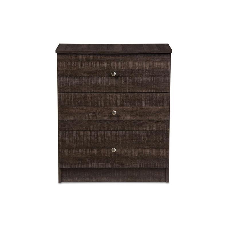 Decon Wood 3-Drawer Storage Chest