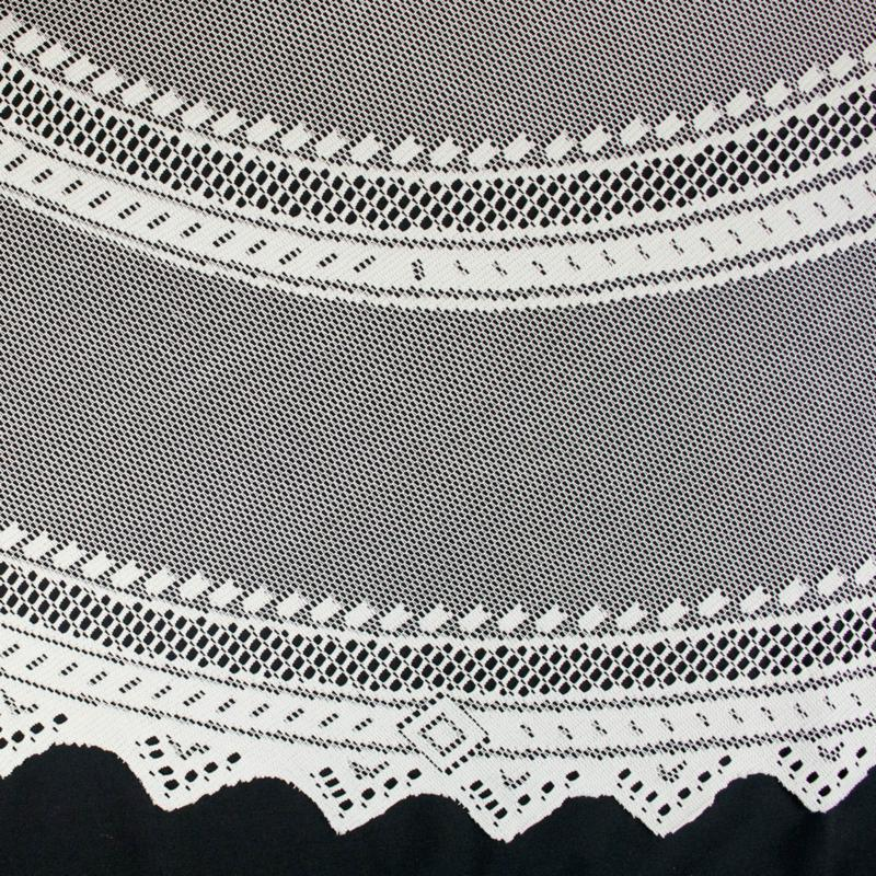 White Lace Table Cloths 52 X 70 Inches  New Choice Pattern