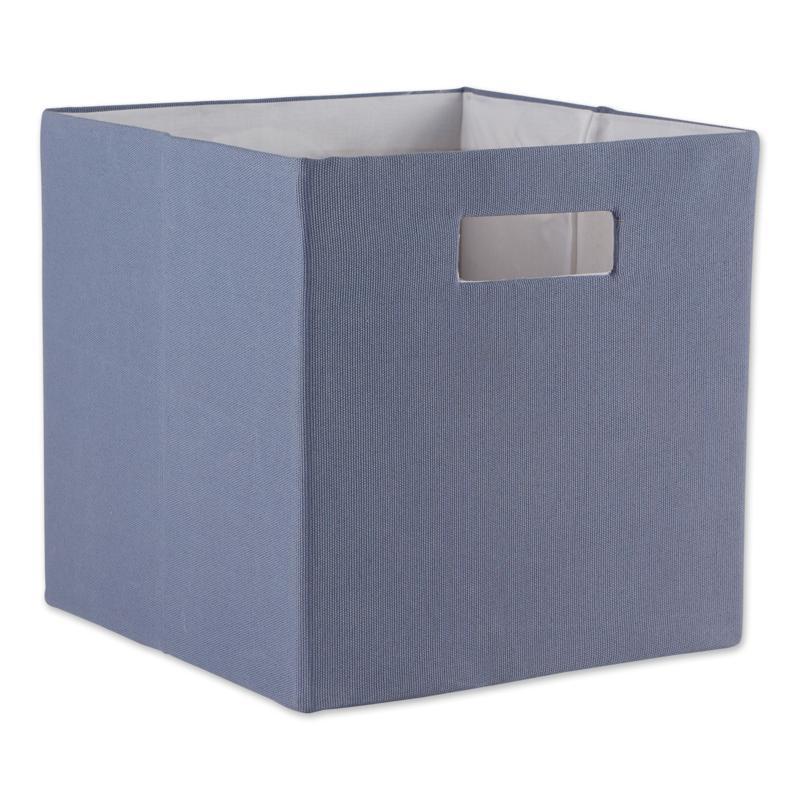 "Design Imports Solid 13"" Square Cube"