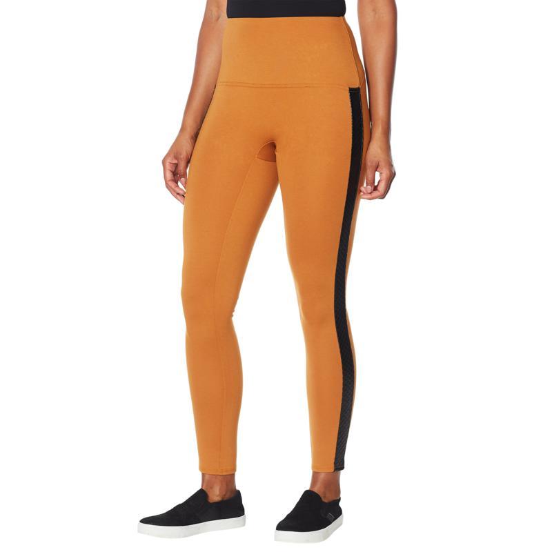 DG2 by Diane Gilman Slim and Sleek Ponte Side Stripe Legging