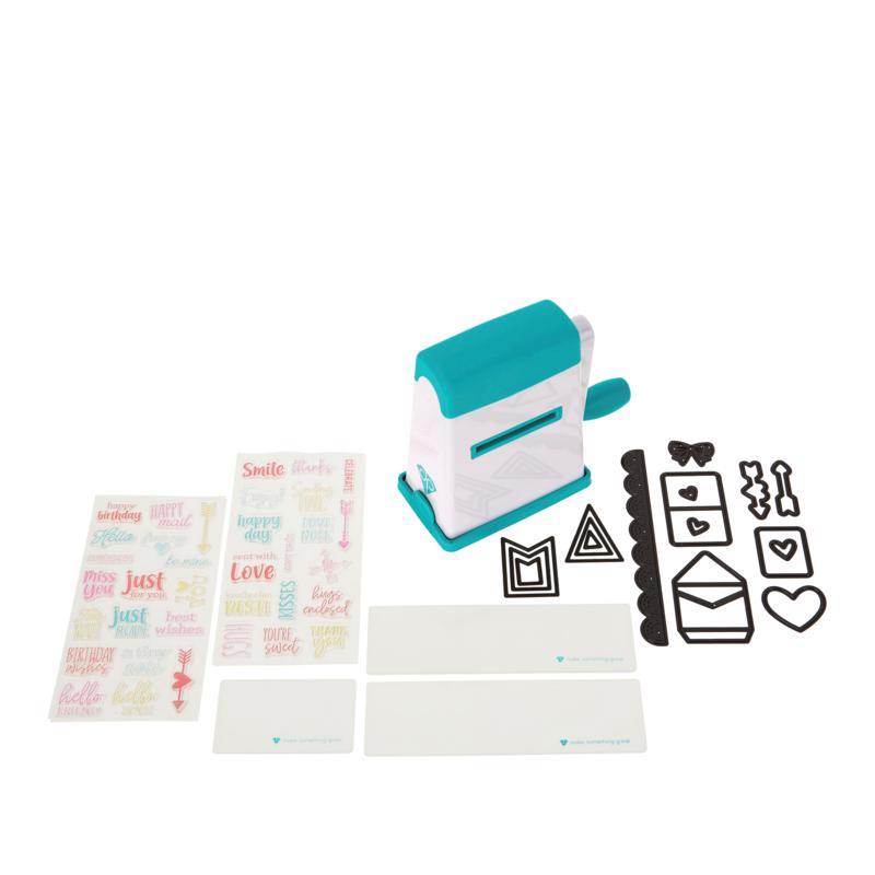 Diamond Press Mini Machine and Tiny Notes Stamp Bundle