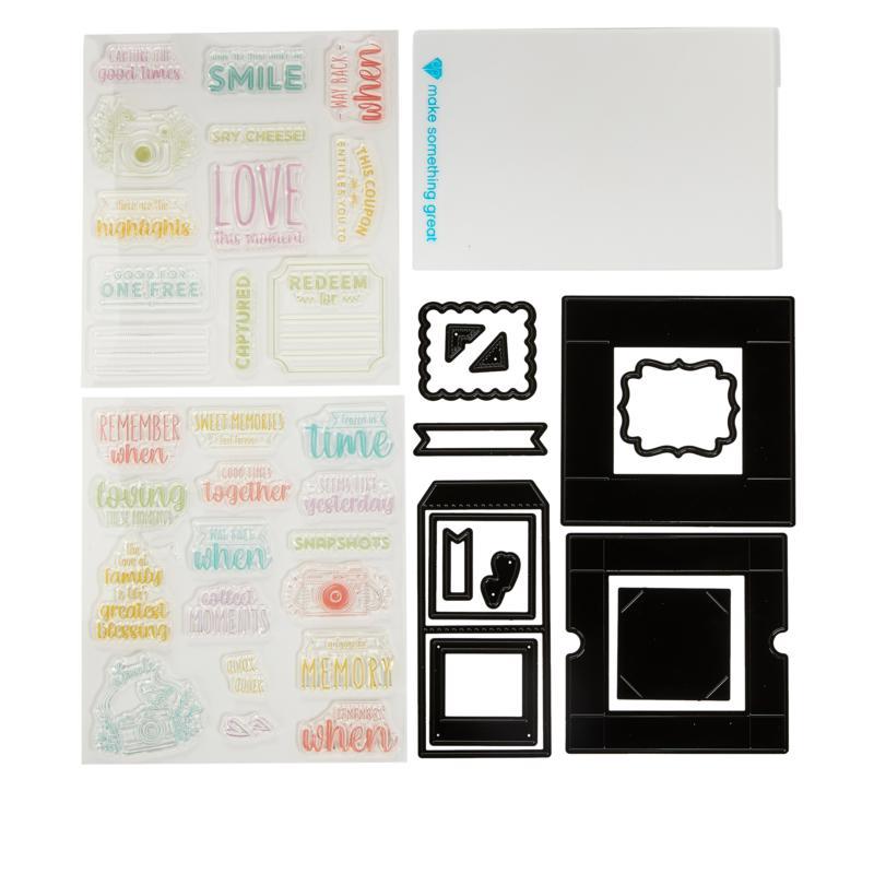 Diamond Press Photo Memory Box Stamps and Dies
