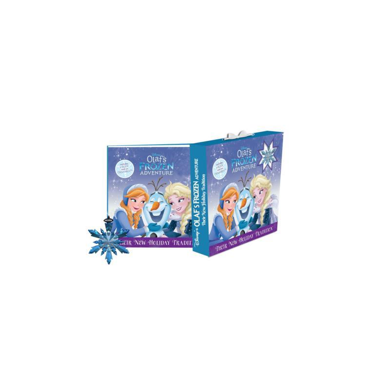 Disney Olaf's Frozen Adventure Holiday Tradition Book and Ornament Set
