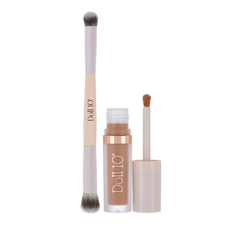 Doll 10 Deep HydraLux Concealer and Dual-Ended Brush
