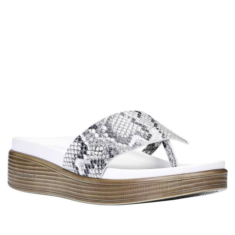 Donald J. Pliner Fifi22 Leather Platform Thong Sandal