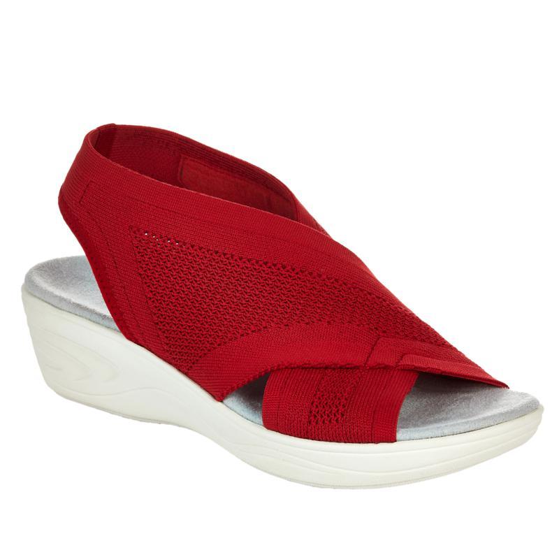 easy spirit Missy Stretch Wedge Sandal
