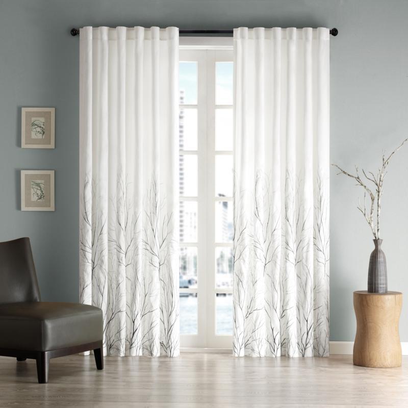 Eliza Window Panel - White