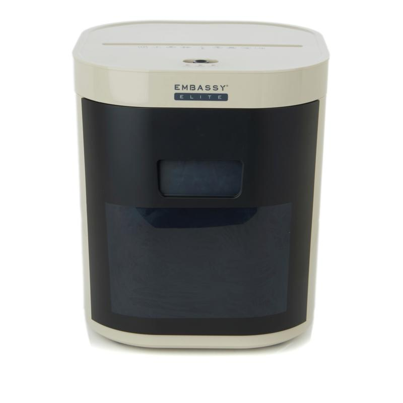 Embassy Microcut 12-Sheet Compact Paper Shredder with Software