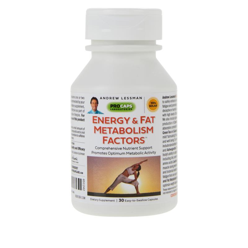 Energy & Fat Metabolism Factors - 30 Capsules
