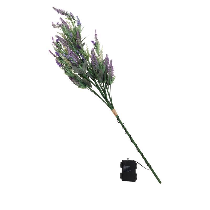 Evergreen Estates Pre-Lit Spring Lavender Twig